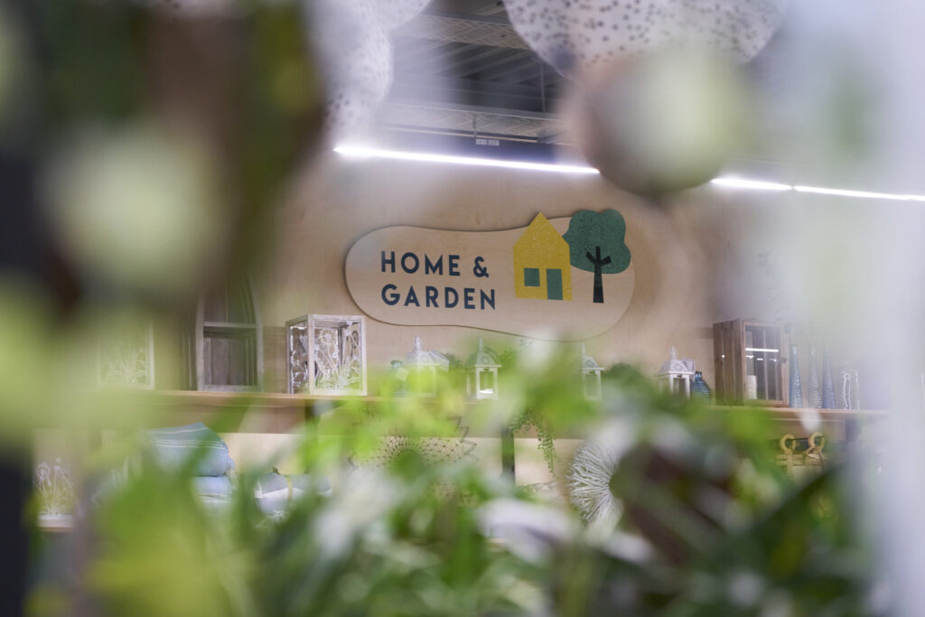 home and garden department