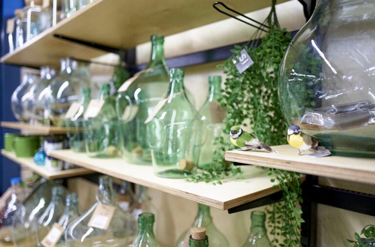 terrarium glass bottles