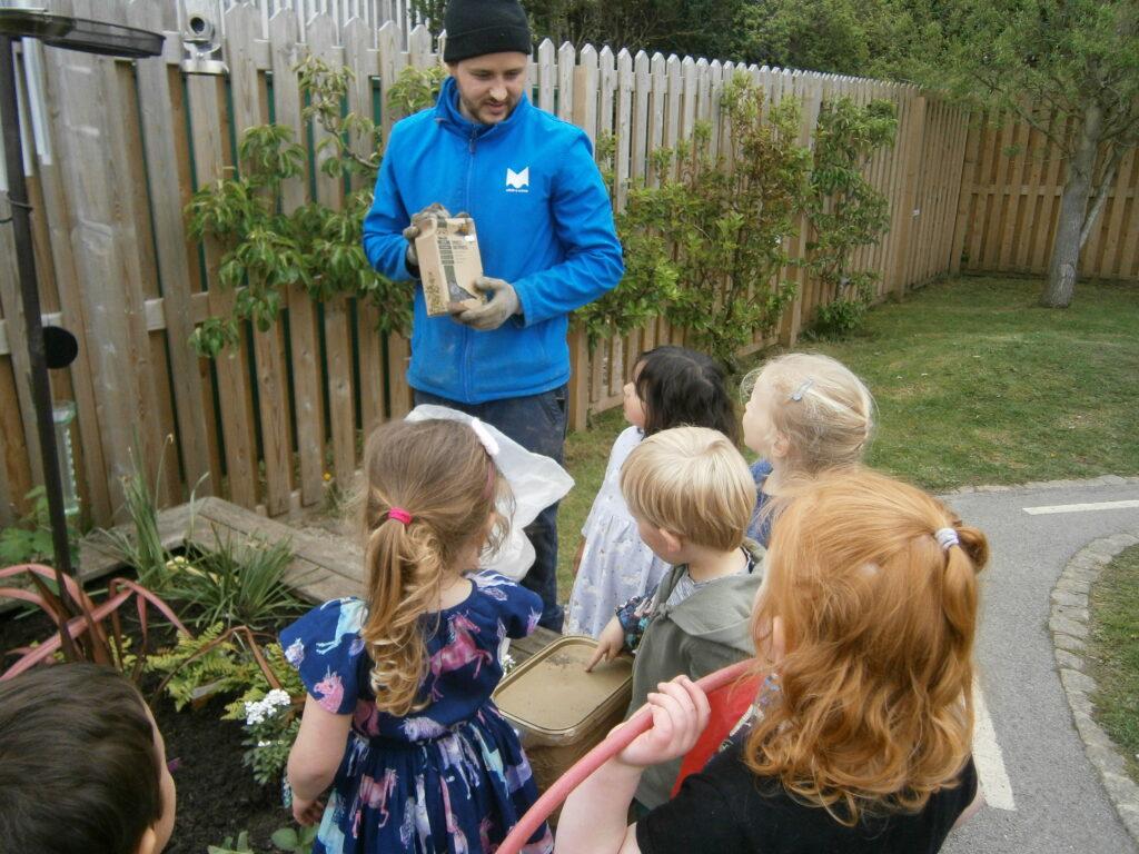 Ben Rydding Sensory garden project