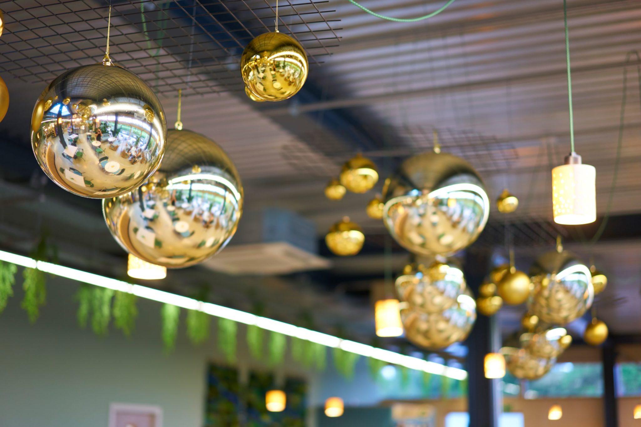 Christmas Baubles restaurant