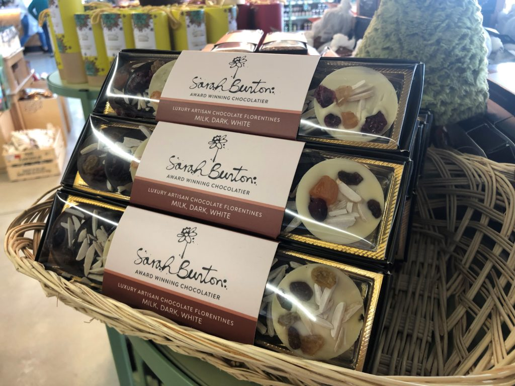 Sarah Bunton Chocolate Florentines