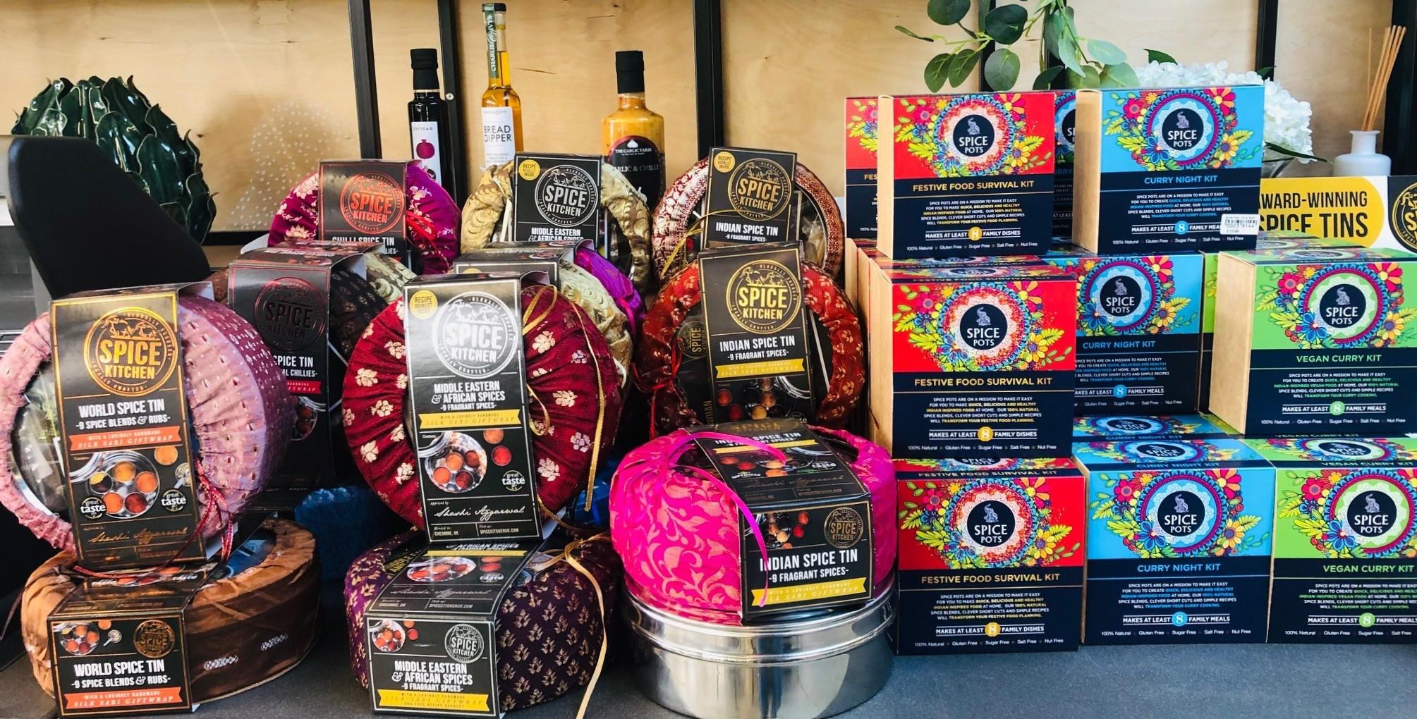Spice Pots - festive food survival ki